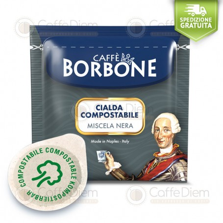Borbone ESE Paper Pods 44 mm - Box of 150 Black Blend Coffee Pods