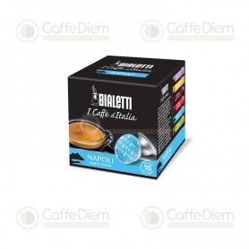 Original Bialetti Napoli Box of 16 Coffee Capsules