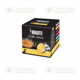Original Bialetti Venezia Box of 16 Coffee Capsules