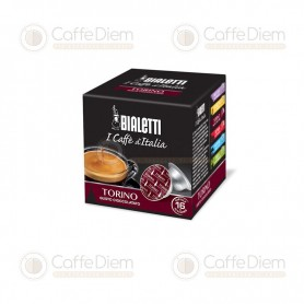 Original Bialetti Torino Box of 16 Coffee Capsules