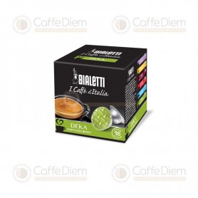 Original Bialetti Decaffeinated Box of 16 Coffee Capsules
