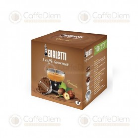 Original Bialetti Hazelnut Box of 12 Coffee Capsules