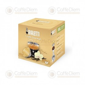 Original Bialetti Vanilla Box of 12 Coffee Capsules