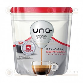 illy Uno System Medium Roast - Pack of 16 Coffee Capsules