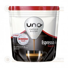Kimbo Uno System Napoli - Pack of 96 Coffee Capsules