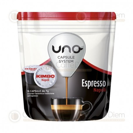 Kimbo Uno System Napoli - Pack of 16 Coffee Capsules