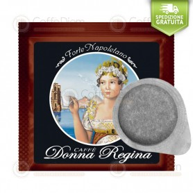 Donna Regina ESE Paper Pods 44mm Miscela Forte Napoletano - Box of 150 Coffee Pods