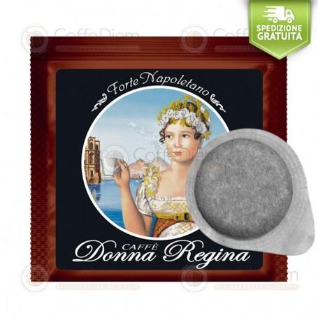 Donna Regina ESE Paper Pods 44mm Miscela Forte Napoletano - Box of 150 Coffee Pods