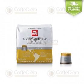 illy iperEspresso 18 Coffee Capsules Colombia 100% Arabica