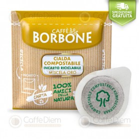 Borbone ESE Paper Pods 44 mm - Box of 150 GOLD Blend Coffee Pods
