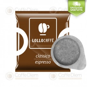Lollo ESE Paper Pods 44 mm - Box of 150 Classic Blend Coffee Pods