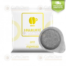 Lollo ESE Paper Pods 44 mm - Box of 150 Gold Blend Coffee Pods