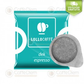 Lollo ESE Paper Pods 44 mm - Box of 150 Decaff Blend Coffee Pods