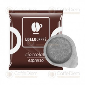 Lollo ESE Paper Pods 44 mm - Pack of 30 CIOCCOLATO ESPRESSO Pods