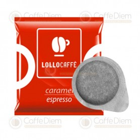 Lollo ESE Paper Pods 44 mm - Pack of 30 CARAMELLO ESPRESSO Pods