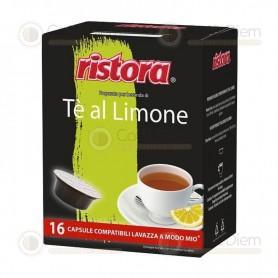 Capsule Cialde Ristora Tè Limone per Lavazza A Modo Mio