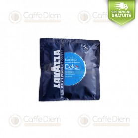 LAVAZZA DECAFFEINATED COFFEE- BOX OF 108 ESE PODS