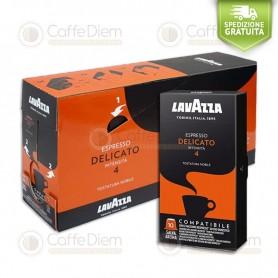 Lavazza Delicato 100 Capsule compatibili Nespresso