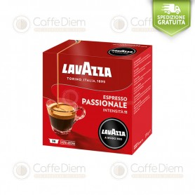 Lavazza A Modo Mio Passionale Box of 36 Coffee Capsules