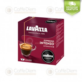 Lavazza A Modo Mio Intenso Intense Box of 36 Coffee Capsules