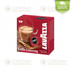 Lavazza A Modo Mio Ginseng - Box of 12 Coffee Capsules