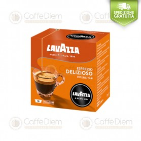Lavazza A Modo Mio Qualità Delizioso Delicious Box of 16 Coffee Capsules