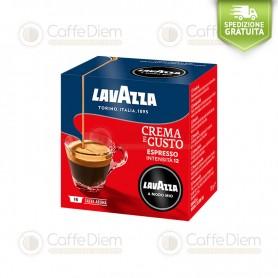 16 Capsule Caffè Lavazza A Modo Mio Crema e Gusto