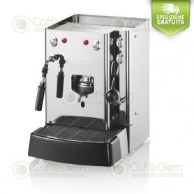 COFFEE MACHINE LA PICCOLA SARA VAPOR TOTAL INOX ESE PODS