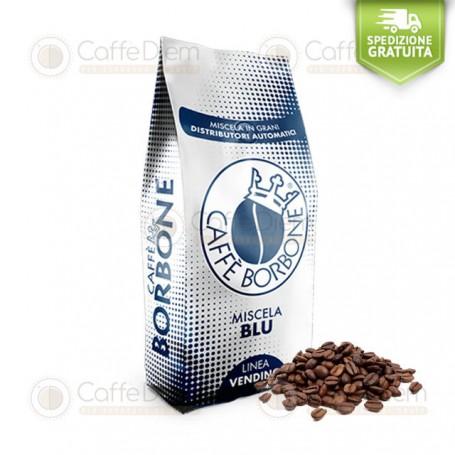 Borbone Coffee Beans Miscela Blu - 1KG Whole Beans