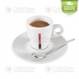 Kimbo Set Tazze Tazzine con Piattini per ESPRESSO Caffè