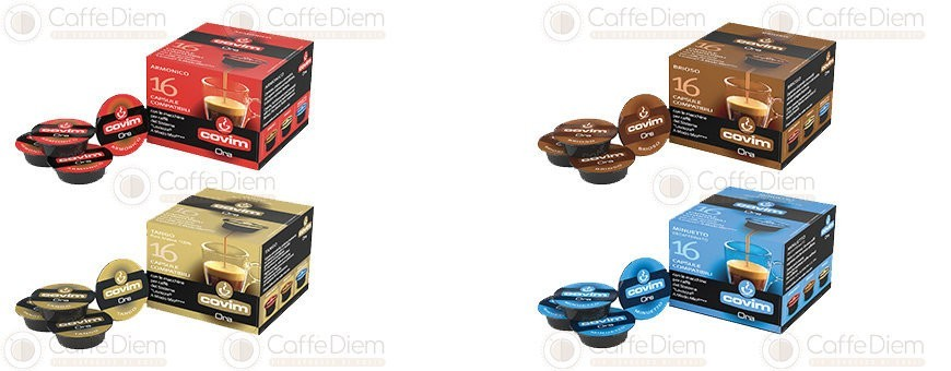 Covim Coffee Capsules Compatibles with Lavazza A Modo Mio | Caffè Diem