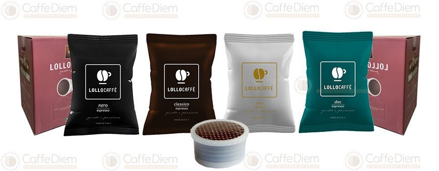 Capsule Lollo Compatibili Espresso Point | Caffè Diem
