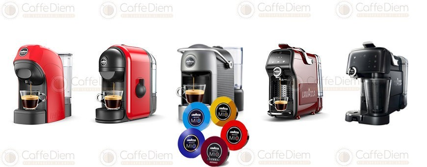 Lavazza A Modo Mio System Coffee Capsules Machines